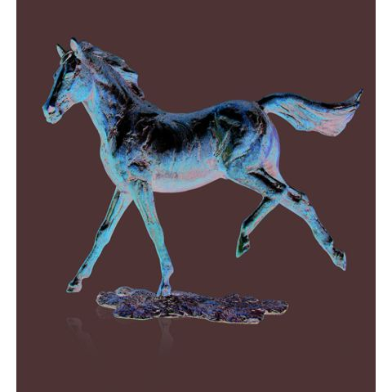 Grace Horse Sculpture (w165mm) (Gift Boxed)   Richard Cooper Bronze