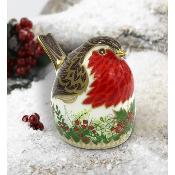 Christmas Wreath Robin