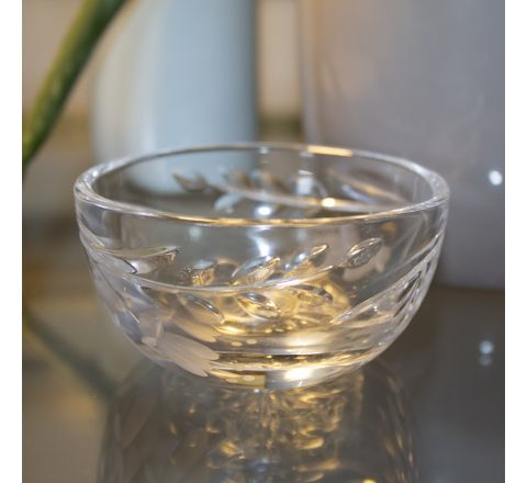 SALE - Annabel Crystal Ring Bowl 90mm (Gift Boxed) | Royal Scot Crystal - ONLINE EXCLUSIVE