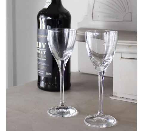 Classic Collection - Pair of Port / Sherry Glasses 157mm, 60ml (Gift Boxed) | Royal Scot Crystal
