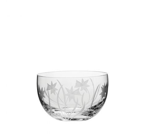 Daffodils Small Bowl 120mm (Gift Boxed) | Royal Scot Crystal - New!