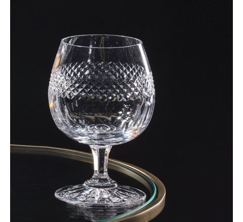 Diamonds - Single Brandy Glass 132mm (Gift Boxed Boxed) | Royal Scot Crystal