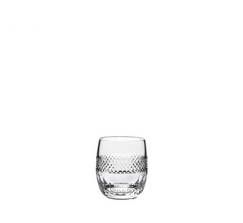 Diamonds - single Large Barrel / Water Tumbler- 95mm (Gift Boxed) | Royal Scot Crystal