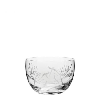 Dragonfly Small Bowl (Giftware) - 120mm (Gift Boxed) | Royal Scot Crystal - New!