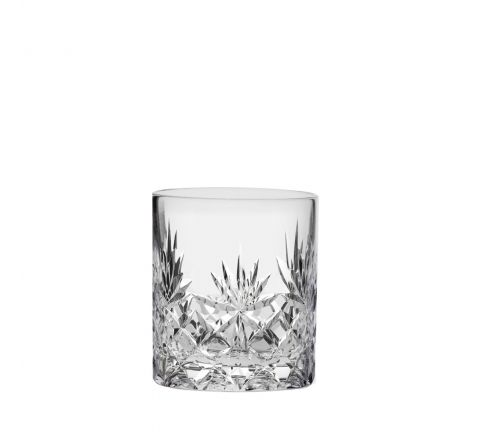 Kintyre Crystal Double Tot Glass - 68mm (Gift Boxed) | Royal Scot Crystal