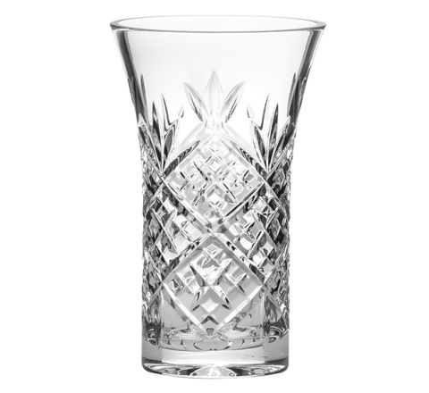 Edinburgh Small Flared Crystal Vase 15cm (Gift Boxed)