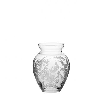 Woodland Fern Small Posy Vase - 1200mm (Gift Boxed) | Royal Scot Crystal