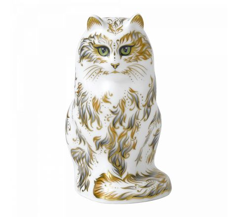 Fifi Cat 165mm (Gift Boxed) | Royal Crown Derby