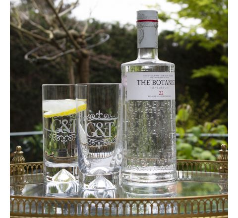 Gin and Tonic (G&T) - 2 Highballs (Dimple Tumbler) (Gift Boxed) | Royal Scot Crystal