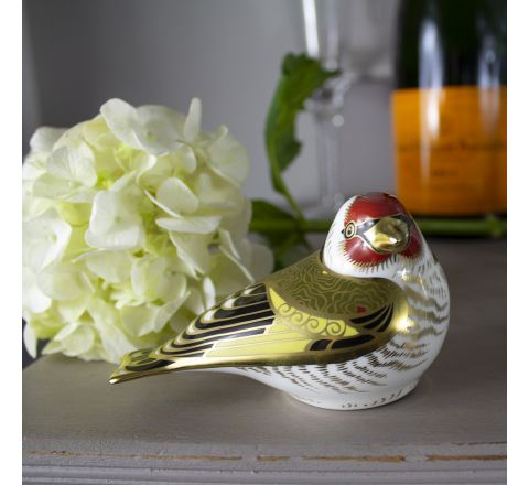Goldfinch (w95mm) (Gift Boxed) | Royal Crown Derby