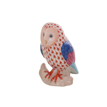 Barn Owl - Porcelain Animal Figurine 65mm | Herend