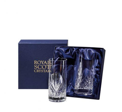 ROYAL SCOT CRYSTAL - TALL TUMBLERS