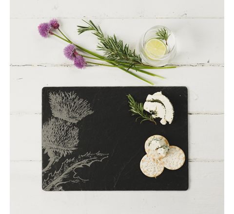 Slate Thistle Cheese Board / Platter