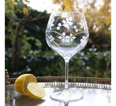 Juniper 1 - Gin and Tonic (G&T) Copa Glass, 210mm (Gift Boxed)