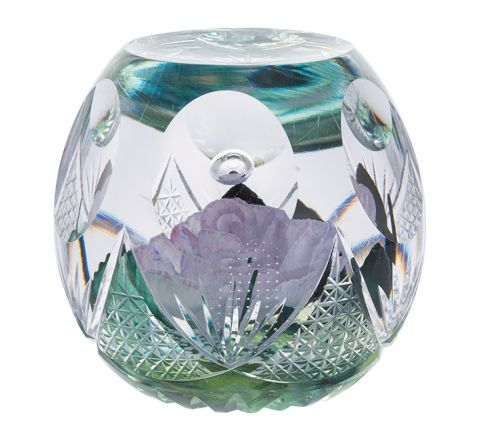 Chantilly Glass Paperweight -115mm (Floral) Limited Edition of 100 - | Caithness Glass