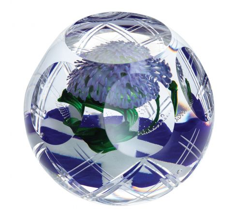 Scotland's Pride (Thistle / Flower of Scotland) - 110mm - Limited Edition of 200 | Caithness Glass