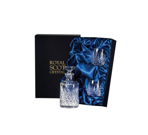 London - Single Malt Whisky Set (Presentation Boxed) | Royal Scot Crystal