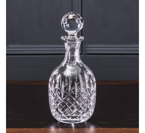 SALE - London Crystal Port / Brandy Decanter 270mm (BROWN CARD BOX) (SECONDS QUALITY)| Royal Scot Crystal