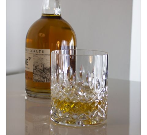 Mayfair - Single Large On the Rocks Tumbler 100 mm (Gift Boxed) | Royal Scot Crystal