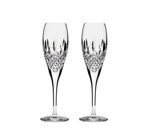 Mayfair 2 Crystal  Champagne Flutes 218mm (Gift Boxed) | Royal Scot Crystal