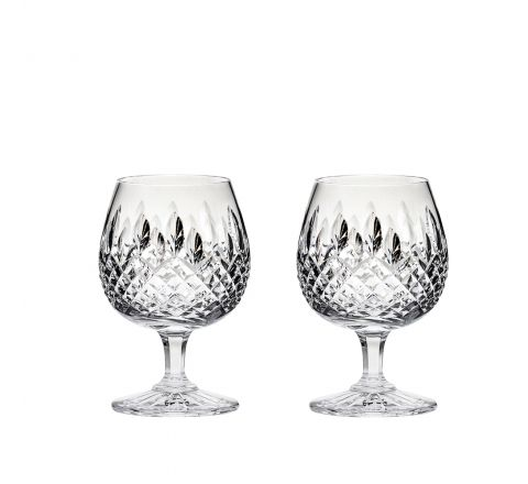 Mayfair 2 Crystal Brandy Glasses 132mm (Gift Boxed) | Royal Scot Crystal - New!