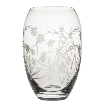 Meadow Flowers Medium Barrel Vase (Gift Boxed)