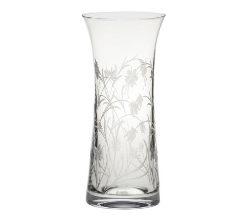 Meadow Flowers Lily Vase 230mm (Gift Boxed) | Royal Scot Crystal