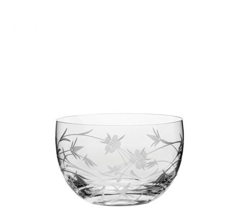 Meadow Flowers Small Bowl - 120mm (Gift Boxed) | Royal Scot Crystal