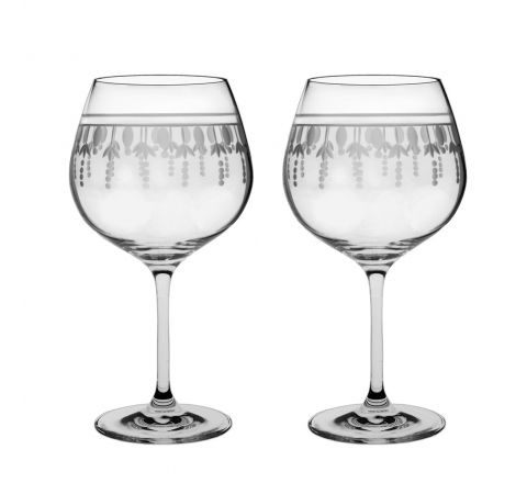 Nouveau - 2 Red Wine Glasses (Pinot Noir / Burgundy) 210mm (gift boxed)   Royal Scot Crystal