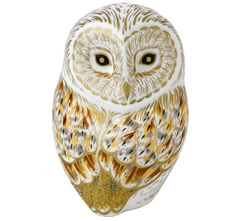 Winter Owl 110mm (Gift Boxed) | Royal Crown Derby