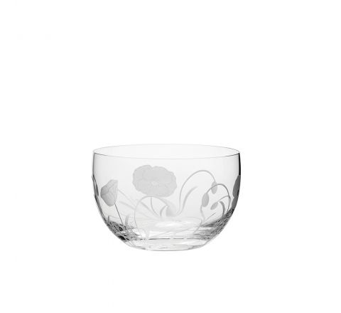 Poppy Field - Small Bowl 120mm (Gift Boxed) | NEW | Royal Scot Crystal