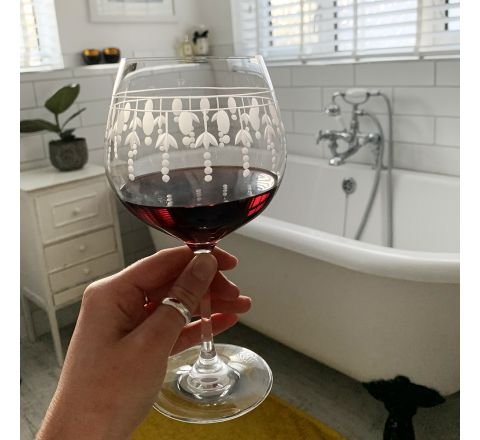 Nouveau - 1 Red Wine Glass (Pinot Noir / Burgundy) 210mm (Gift Boxed) - NEW