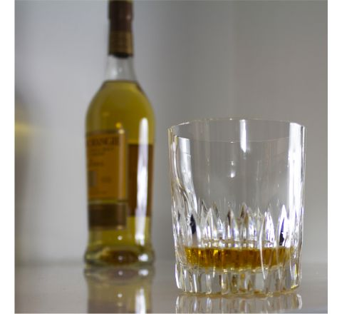 Reflections - Single  Large Crystal Tumbler 95 mm (Gift Boxed) | Royal Scot Crystal