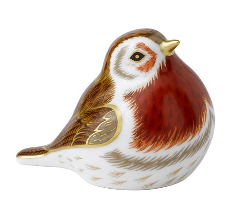 Royal Robin (80mm) (Gift Boxed) | Royal Crown Derby