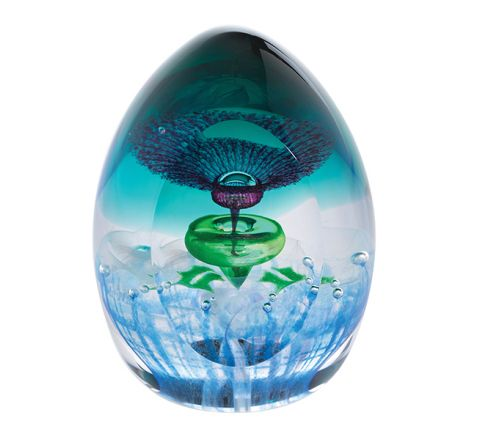 Thistle Do (Flower of Scotland) Glass Paperweight (Scottish) - 80mm - | James Pirie