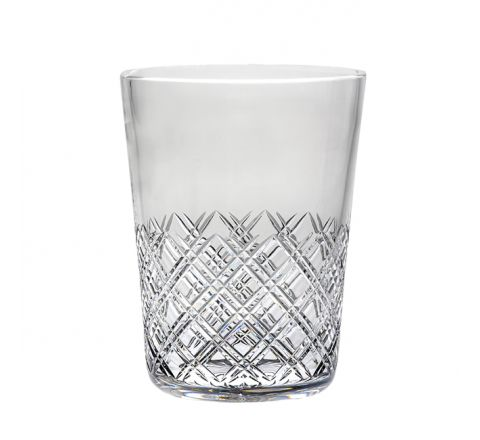 Tartan - Crystal Champagne Bucket 200mm (Gift Boxed) | Royal Scot Crystal
