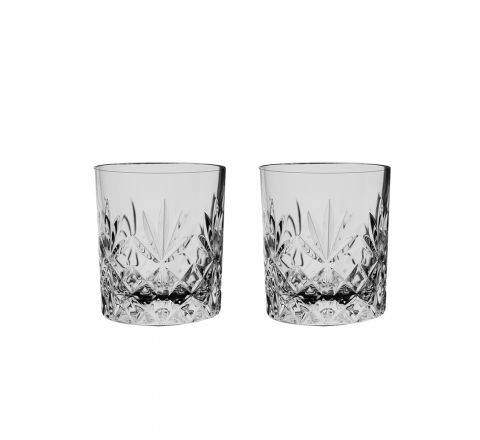 Kintyre 2 Crystal Tot (Shot) Glasses - 60mm (Gift Boxed) | Royal Scot Crystal