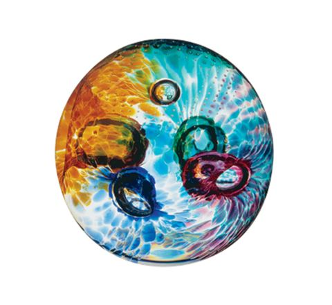 Aura Glass Paperweight 80mm | James Pirie
