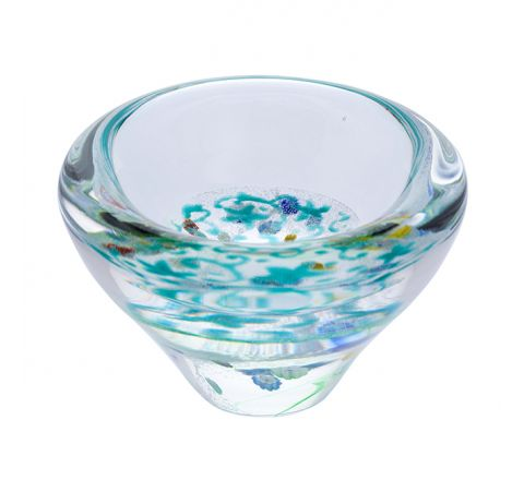 Lace - Meadow Glass Dish, 100mm - |Caithness Glass