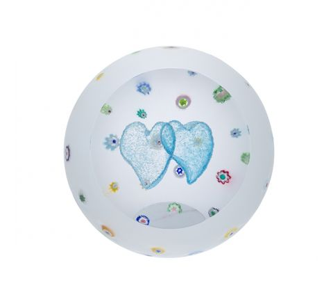 Sprinkled with Love Glass Paperweight 80mm - | Caithness Glass