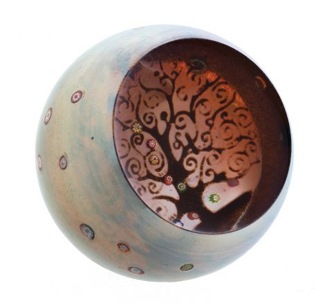 Tree of Life Paperweight 80mm | Caithness Glass