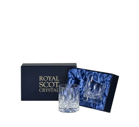 Westminster - 2 Large On the Rocks Tumblers 100 mm (Presentation Boxed) | Royal Scot Crystal