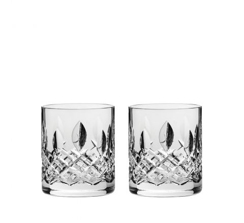 Westminster - 2 Large On the Rocks Tumblers 100 mm (Gift Boxed) | Royal Scot Crystal