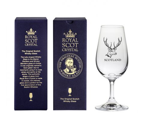 The Original Scotch Whisky Glass - Stag (stemmed) (gift boxed)