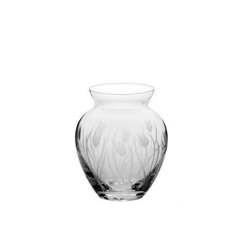 Wild Tulip Small  Posy Vase - 120mm (Gift Boxed) | Royal Scot Crystal