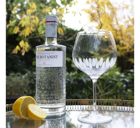 Zest - Single Gin and Tonic (G&T) Copa Glasses, 210mm (Gift Boxed)