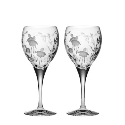 Catherine - 2 Crystal Large Wine Glasses 210mm (Gift Boxed) | Royal Scot Crystal