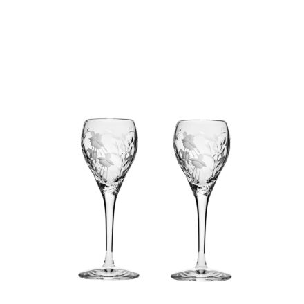 Catherine - 2 Crystal Port / Sherry Glasses 165mm (Gift Boxed)   Royal Scot Crystal