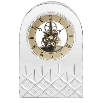Clock - Large London Crystal Clock (Presentation Boxed)