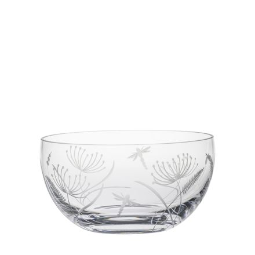 Dragonfly Fruit/Salad Bowl (Giftware) - 190mm (Gift Boxed) | Royal Scot Crystal